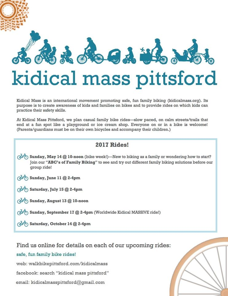 Kidical Mass upcoming dates
