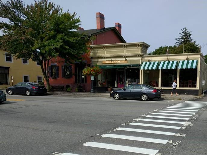 Village Main Street Walkability
