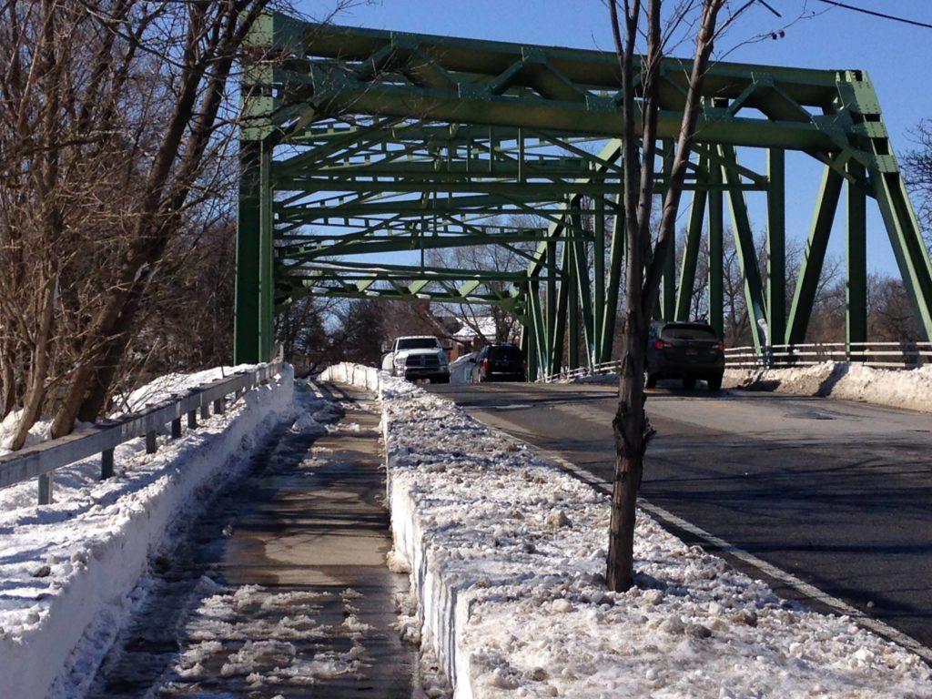 Village sidewalk plows on state