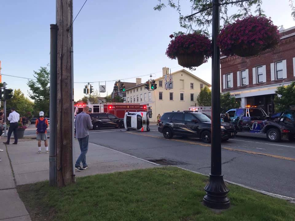 Driver Runs Red Light, Causes Crash at Pittsford Village's 4